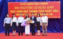 Khen thưởng học sinh Lào Cai giành học bổng toàn phần của Đại học Stanford (Mỹ)