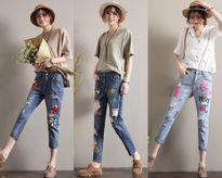Đây chính là xu hướng quần jean được chị em yêu thích nhất trong mùa hè 2017
