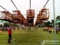 Hàng trăm nghệ nhân chơi chim 4 tỉnh về dự hội ở Nghệ An