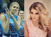 Ngất ngây nhan sắc hotgirl bóng chuyền Nga đẹp hơn cả Maria Sharapova