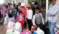 Gia Lai: Tiếp nhận 25 người tị nạn tự nguyện hồi hương