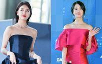 Yoona rực rỡ tỏa sáng, Suzy tóc ngắn vẫn cực kỳ gợi cảm trên thảm đỏ