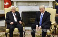 Tổng thống Mỹ tiếp đón Tổng thống Palestine