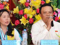 Phó bí thư Bình Định giải trình với cử tri