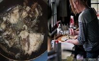 Cô gái được mẹ chồng tương lai khen 'sắp thành đầu bếp' sau khi ra mắt bằng món cá rán nát vụn
