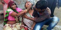 Lễ cưới thành đám tang tập thể do sập tường ở Ấn Độ