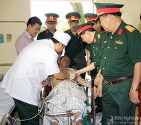 Hơn 300 thương, bệnh binh và thân nhân được khám bệnh, cấp thuốc miễn phí