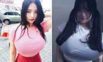 Ai cũng choáng trước 2 người mẫu ngực khủng của Hàn Quốc