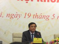 Tổng Thư ký QH: Ông Võ Kim Cự xin thôi vì sức khỏe là bình thường