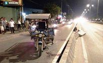 Xe ba gác gây tai nạn nghiêm trọng khiến 4 người nhập viện khẩn cấp