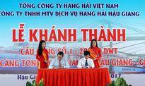 Vinalines Hậu Giang; Khánh thành cầu cảng số 1-20.000 DWT