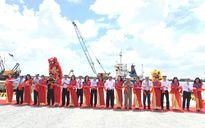 Khánh thành cầu cảng có khả năng tiếp nhận tàu trọng tải 20.000 tấn