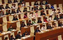 491 đại biểu Quốc hội bắt đầu bàn các quyết sách quan trọng