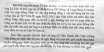DA đường Cai Châu - Nước Xoáy: Thanh tra tỉnh Đồng Tháp vào cuộc