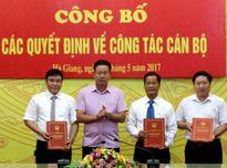 Nhân sự Bộ GTVT, TPHCM, Hà Giang, Bắc Ninh,...