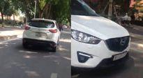 Kiều nữ lái ô tô chở đại gia tông người rồi bỏ chạy ở Hà Nội