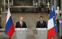 Tổng thống Nga - Pháp nói gì sau lần đầu hội đàm?