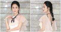 Á hậu Hà Thu bất ngờ tham dự một cuộc thi về ca hát