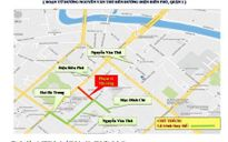 Cấm đường Nguyễn Văn Thủ thi công cáp ngầm Xa Lộ - ĐaKao