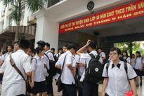 TP.HCM: Chùm ảnh ngày thi đầu tiên vào lớp 10 THPT tại hội đồng thi Trường Trần Văn Ơn