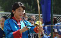 Công chúa Nhật Bản khoe tài bắn cung tại Bhutan
