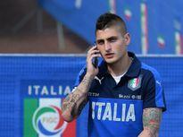 Marco Verratti và El Shaarawy lên tập trung cùng tuyển Italia