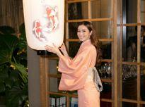 Khánh My ngọt ngào trong trang phục kimono Nhật Bản