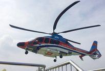 Triển khai dịch vụ trực thăng đón khách từ trung tâm Sài Gòn