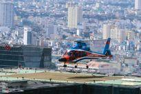 TPHCM: Đưa đón khách VIP bằng trực thăng