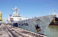 Tàu lực lượng bảo vệ bờ biển Nhật Bản đến Đà Nẵng