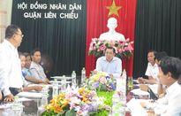Chủ tịch UBND TP Đà Nẵng tiếp các hộ giải tỏa trên địa bàn Q. Liên Chiểu