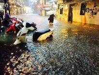 Hà Nội: Quận Hoàn Kiếm, Long Biên mưa tới hơn 130mm