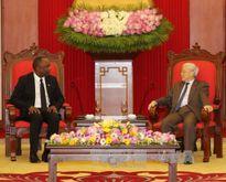 Tổng Bí thư Nguyễn Phú Trọng tiếp Chủ tịch Thượng viện Cộng hòa Haiti