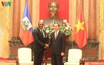 Chủ tịch nước tiếp Chủ tịch Thượng viện Cộng hòa Haiti