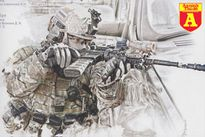 Lạnh lùng, dứt khoát, hành động của đặc nhiệm Alpha Nga khiến khủng bố khiếp sợ