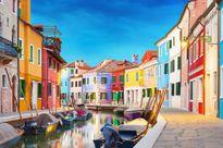 Những địa danh hút khách nhờ sắc màu lòe loẹt