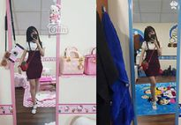 Điều đặc biệt trong căn phòng của chị thích Doraemon, em yêu Hello Kitty