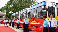 Hà Nội khai trương nhiều tuyến buýt mới kết nối nội đô với các huyện ngoại thành