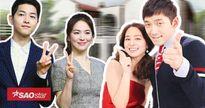 Fan háo hứng mong chờ ngày Song Joong Ki - Song Hye Kyo và Bi Rain - Kim Tae Hee kết thành sui gia