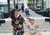 Ly Kute lần đầu đưa con trai Khoai Tây đi chơi nước ngoài