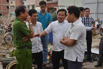 Ông Đoàn Ngọc Hải chỉ đạo tháo dỡ 26 căn nhà ở chung cư Cô Giang