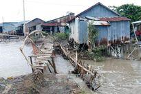 Kiên Giang có 70 km bờ biển Tây bị sạt lở nặng