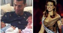 """Ronaldo thuê đẻ sinh đôi, bị cựu Hoa hậu Mỹ """"mắng"""" thậm tệ"""