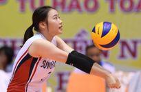 Ngắm các chân dài bóng chuyền Hàn Quốc xinh đẹp tại VTV Cup