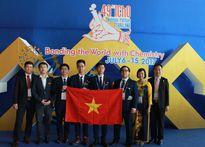 Đội tuyển Việt Nam dự Olympic Hóa học quốc tế đạt kết quả cao nhất từ trước đến nay
