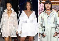 Gu thời trang điệu đà, nữ tính của Rihanna 'đốn tim' phái mạnh