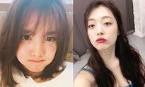 Sao Hàn 17/7: Sulli lấp ló vòng 1 gợi cảm, Na Yeon làm mặt xấu vẫn xinh
