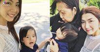 Sao Việt 24h qua: Khoảnh khắc bình yên của Ngọc Quyên bên mẹ và con trai