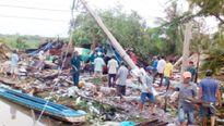 Cà Mau: Lốc xoáy trong đêm, 19 căn nhà sập hoàn toàn