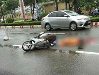 1 phụ nữ bị xe tải cán tử vong gần bệnh viện
